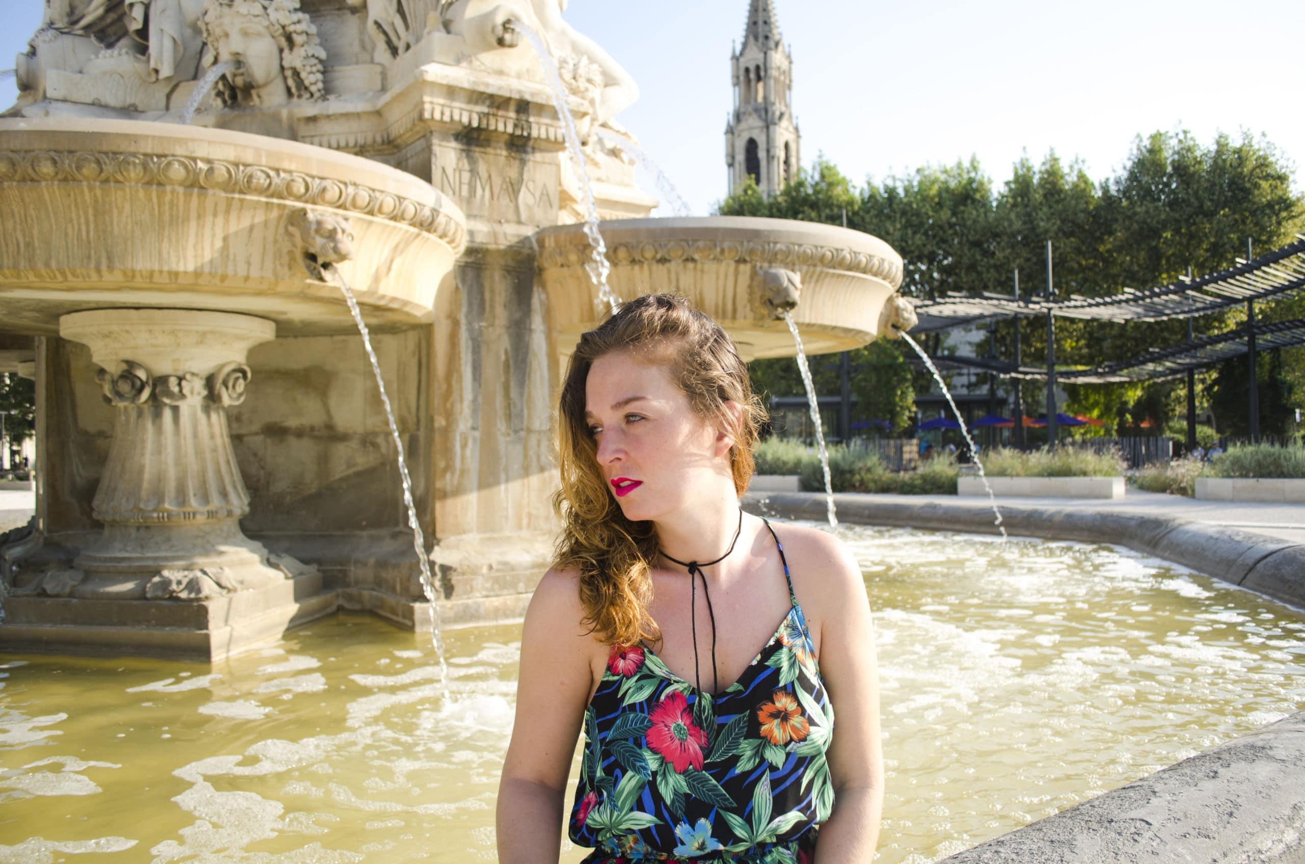 fontaines, Nîmes