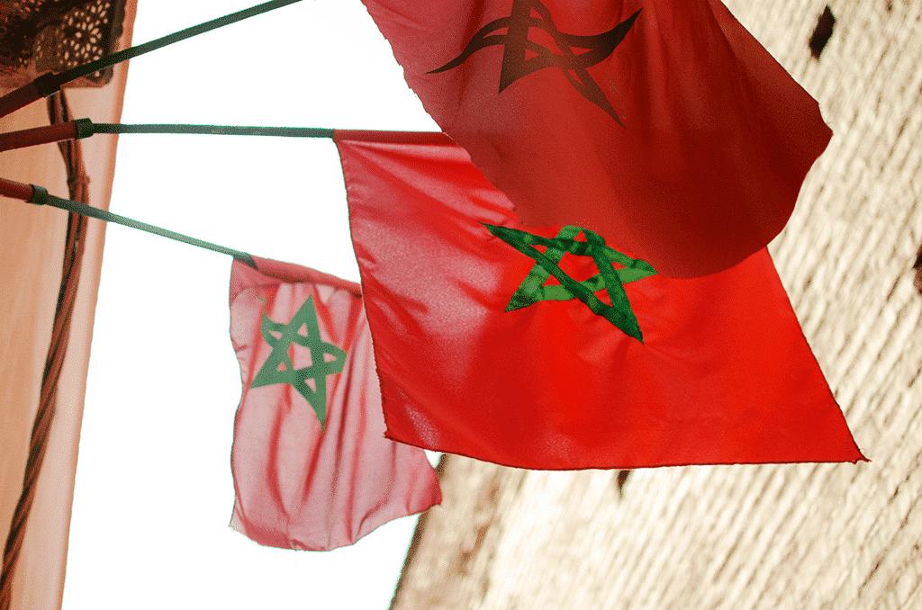 drapeau, marrakech