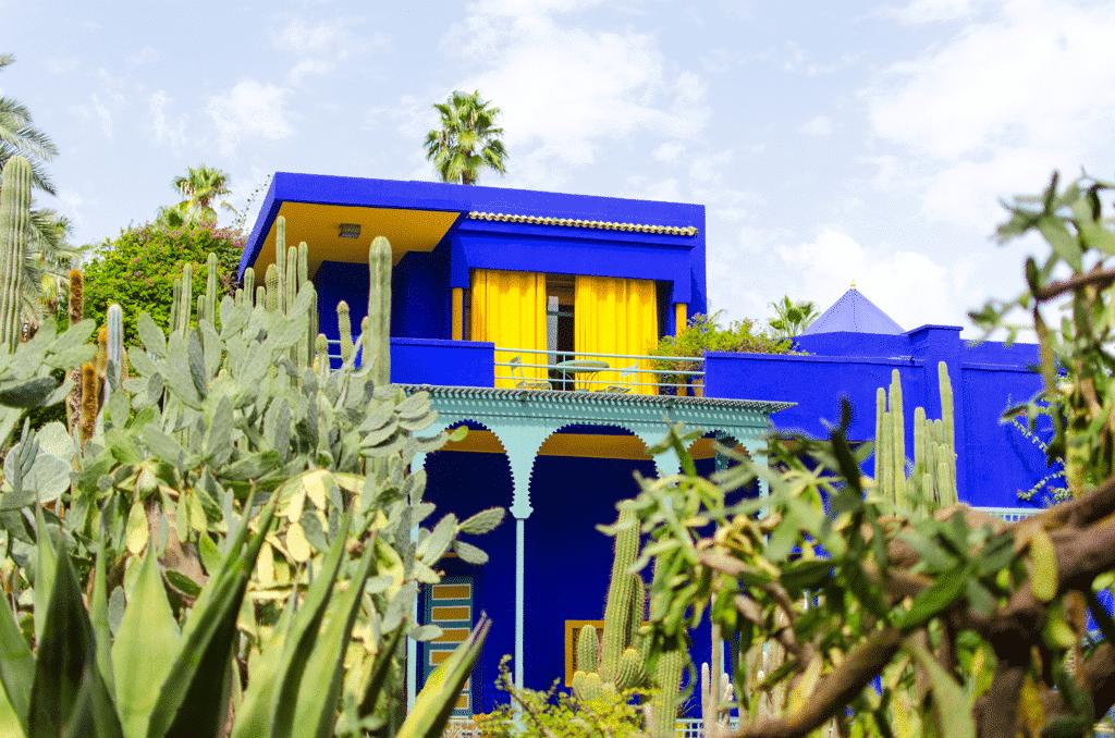 La villa Majorelle Yves Saint Laurent, Marrakech