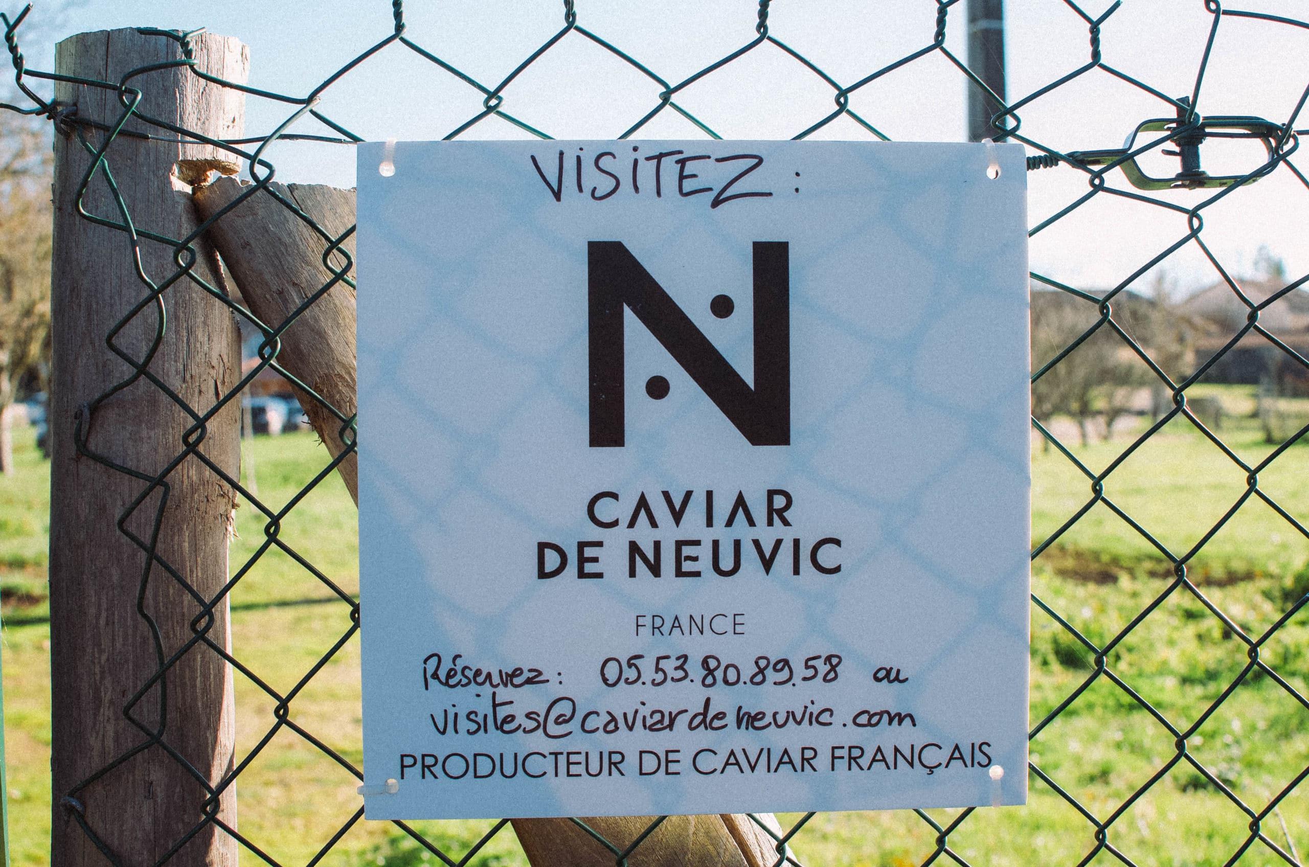 entreprise producteur de caviar