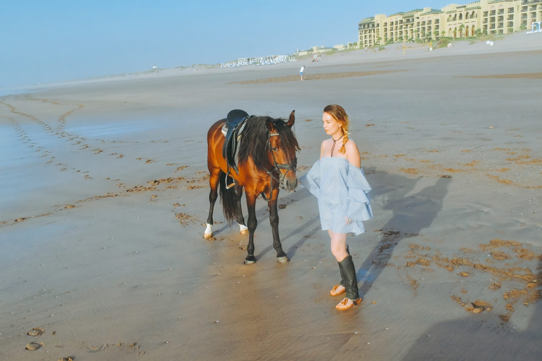 MAZAGAN BEACH RESORT balade à cheval