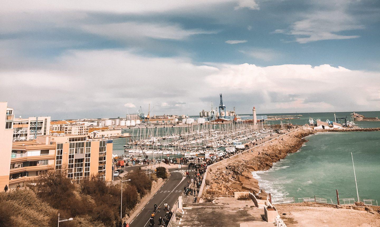 port, le castella, sète