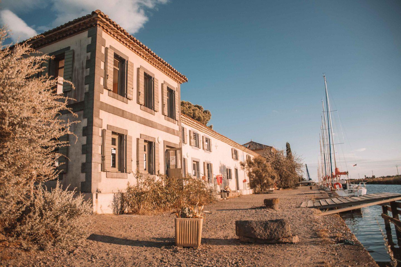 la maison des Glénans de Marseillan