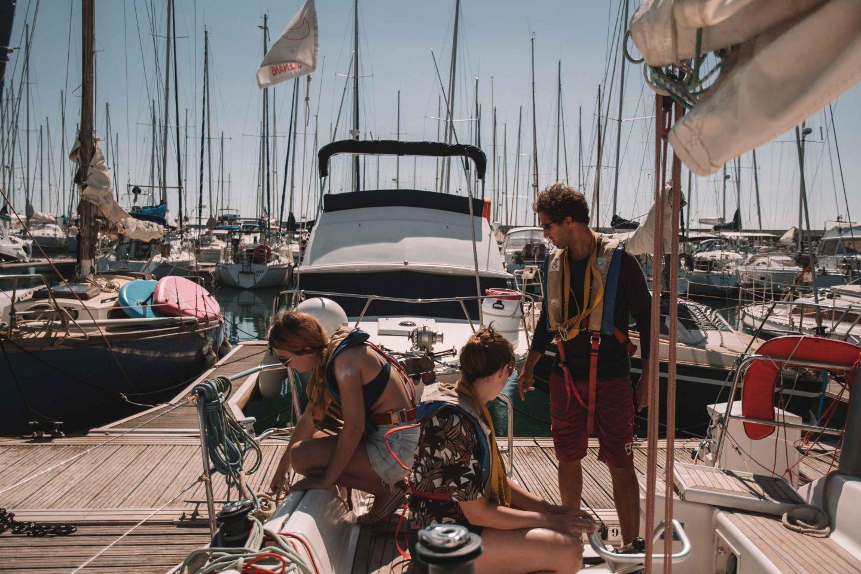 apprendre à ranger un bateau