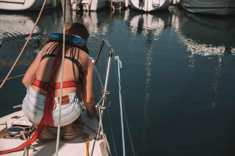 apprendre à faire un nœud sur un bateau