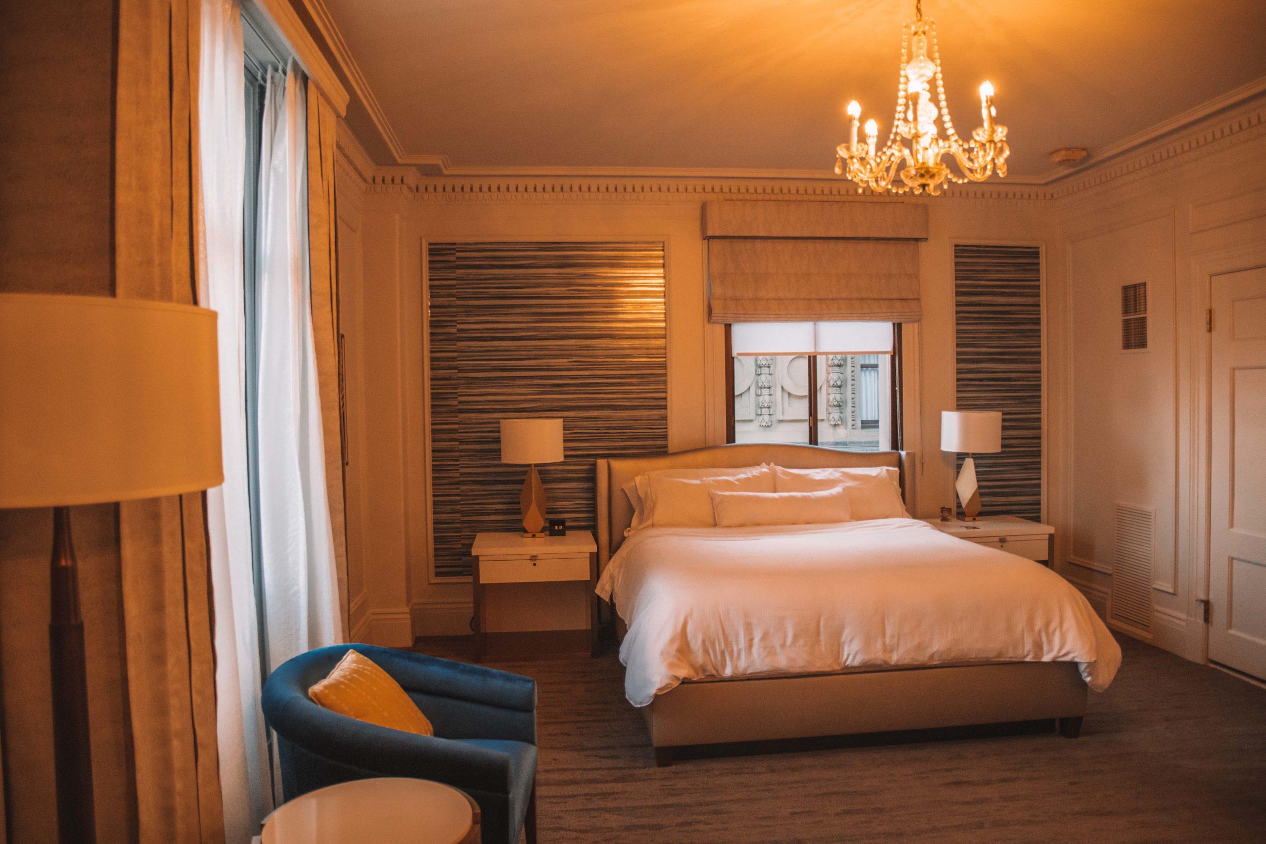 chambre hôtel sans francisco
