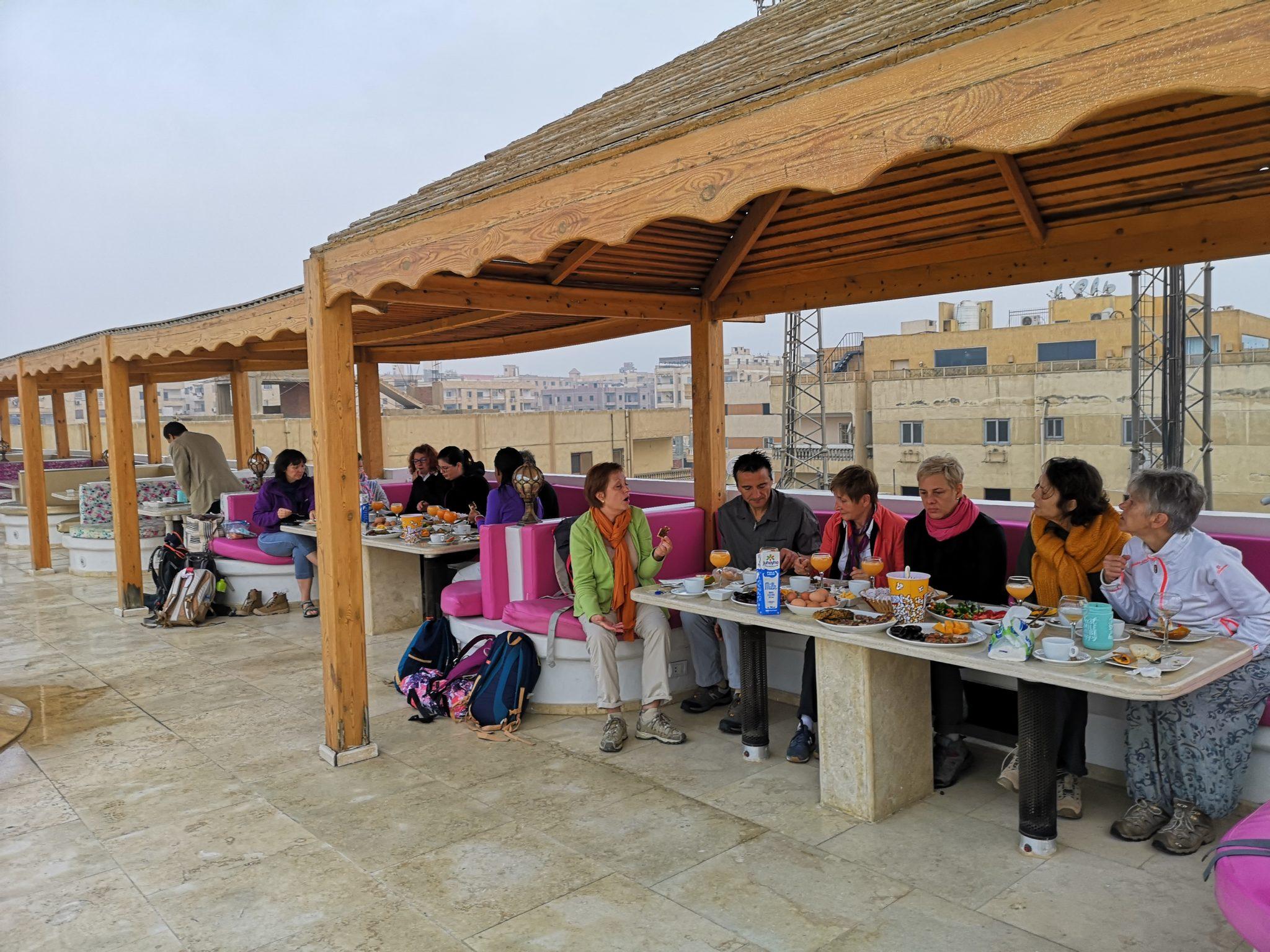 Égypte - Jour 2 Petit-déjeuner au Caire