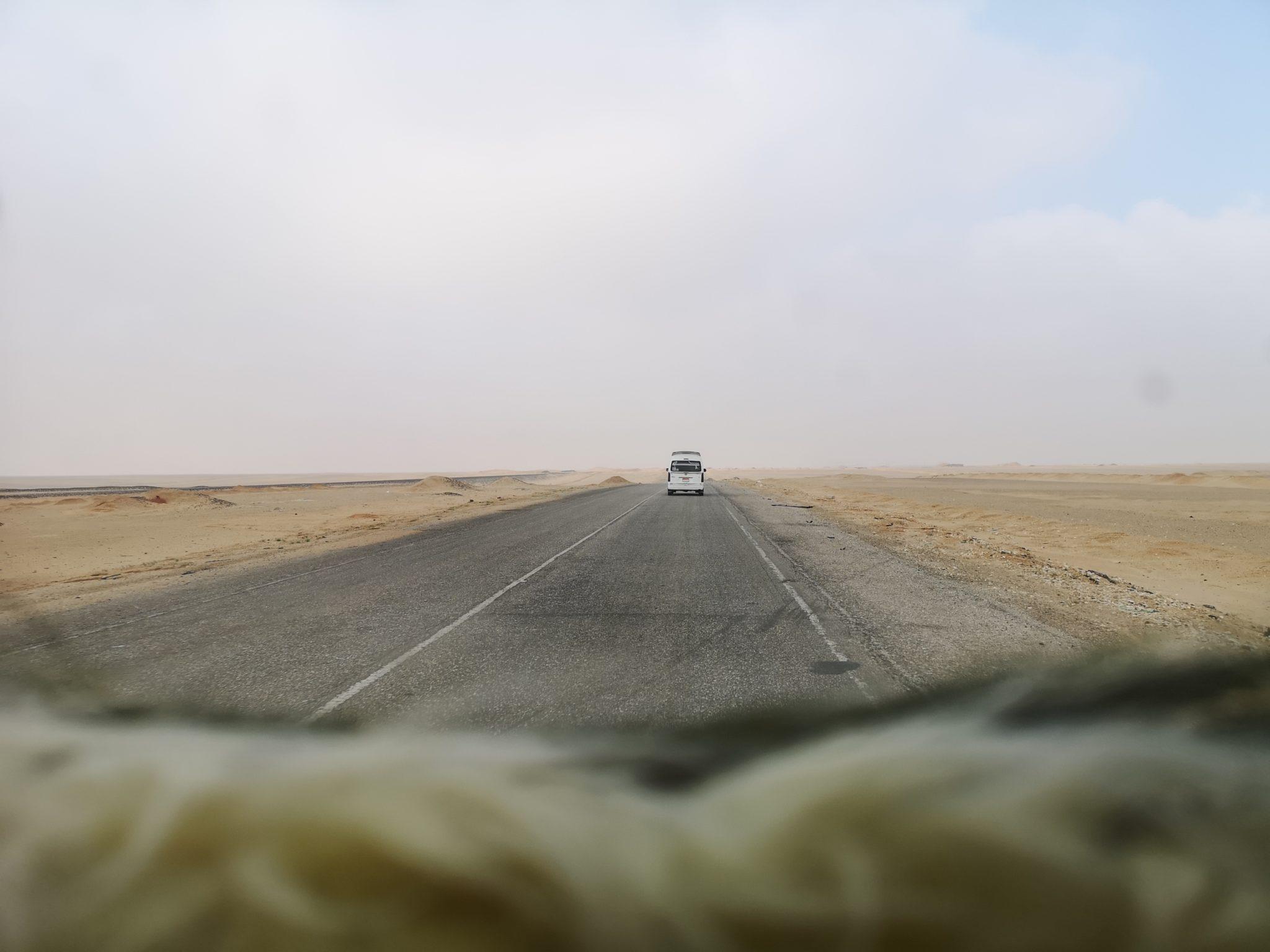 Direction le désert blanc
