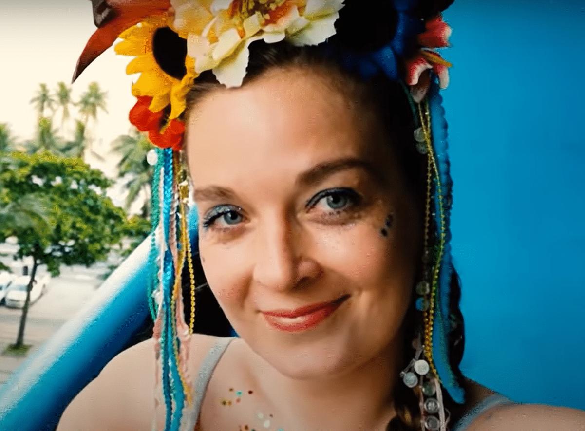 Perrine est au Carnaval de Rio De Janeiro