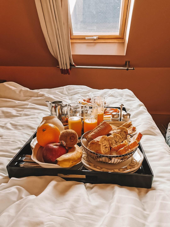 Breakfast à notre hôtel sur Dinard